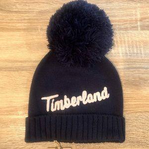 🆕 TIMBERLAND women's script logo knit hat